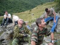 """Летний тренировочный лагерь в Дигорском ущелье """"Таймази-2007″ 12-19 августа 2007г."""