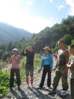 Летний тренировочный лагерь в Дигорском ущелье «Таймази-2010» 23-29 августа 2010г.