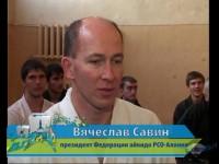 Передача «Время спорта» на телеканале АРТ-НТВ «Пятнадцатилетие Федерации Айкидо Северной Осетии»