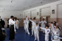 Аттестация в зале 21 школы по айкидо 27 февраля 2011г.
