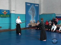 Показательные выступления на соревнованиях по АРБ 19.02.2012