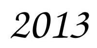 Календарь мероприятий на 2013 год