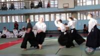 Показательные выступления (инструкторы) на первом открытом детском фестивале айкидо «Пять вершин» 10-12 января 2013г.
