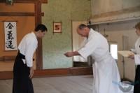 Аттестация в клубе «Тессен» по айкидо и айкидзюдзюцу 31 марта 2013г.