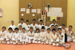Тренировки в клубе японских боевых искусств Танрен. Младшая и старшая группы. Январь 2014г.