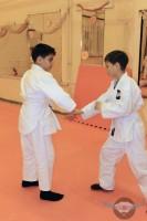 Тренировки в клубе японских боевых искусств Танрен. Старшая группа. Январь 2014г.