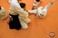 Тренировки в клубе японских боевых искусств Танрен. Младшая группа. Январь 2014г.
