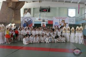 Второй детский фестиваль айкидо «Пять Вершин» Пятигорск 2014г.