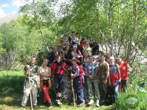 Летний тренировочный лагерь в Дигорском ущелье «Таймази-2014» 11-21 августа 2014г.