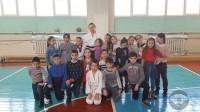 Айкидо в школьном лагере 28 марта 2017